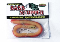 Bass Stopper - 2 Hook Weedless
