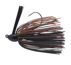 BooYah - Baby Boo Jig - Black/Brown/Chartreuse - 5/16 oz.
