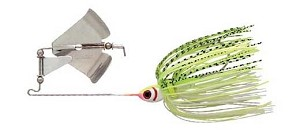 BooYah - Buzz - White Chartreuse Shad - 1/4 oz.