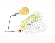 BooYah - Single Colorado Blade - White Chartreuse - 1/4 oz.