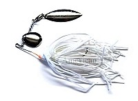 Culprit - Mini Spinnerbait - White