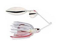 Strike King - Bleeding Spinnerbait - Shad (Tandem) - 3/16 oz.