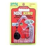 Strike King - Mini King - Clear/Silver/Red - 1/8 oz.