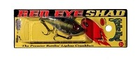 Strike King - Red Eye Chrome Sexy Shad